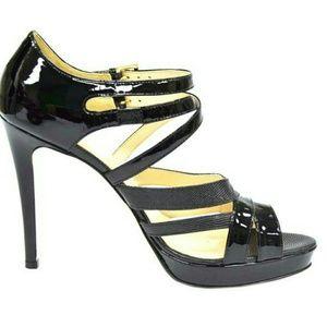 Max Mara Black Neve Sandals